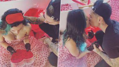 Valentine's Day Special Hot Video: अमेरिकी एक्ट्रेस Bella Thorne ने बॉयफ्रेंड को Kiss करके मनाया वैलेंटाइन्स डे, देखें Video