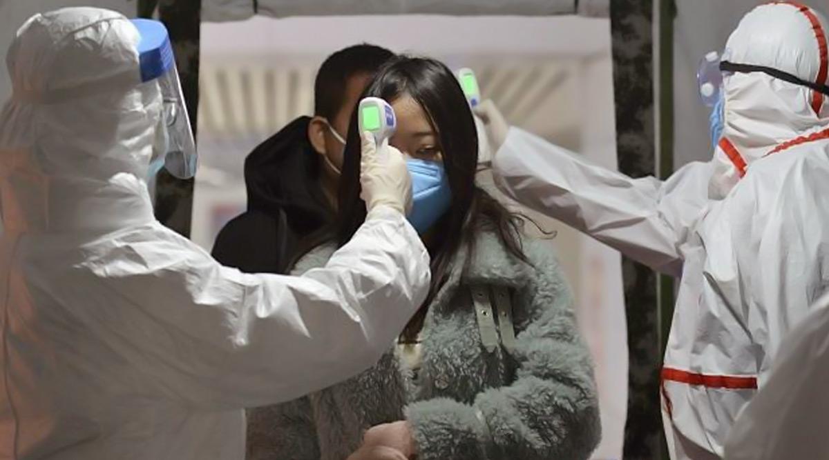 चीन में विदेशों से आए संक्रमित लोगों के 67 नए मामले दर्ज