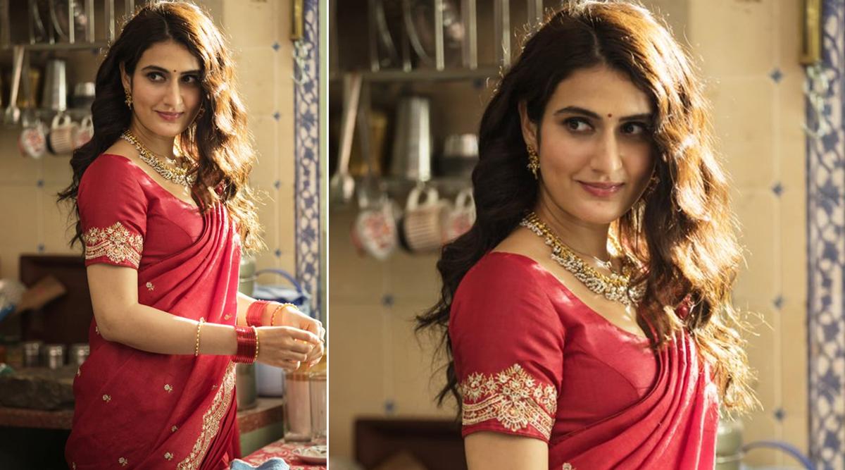 फातिमा सना शेख ने मराठी फिल्म 'सूरज पे मंगल भारी' से शेयर किया अपना फर्स्ट लुक