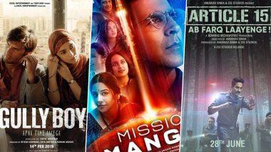 65th Filmfare Awars Nominations: गली बॉय, कबीर सिंह समेत ये बड़ी फिल्में हुईं नोमिनेट, देखें पूरी नॉमिनेशन लिस्ट