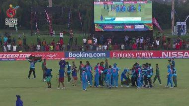 ICC U-19 World Cup Final: आईसीसी ने भारत और बांग्लादेश टीम को दिया झटका, मैदान में हुई अनबन को लेकर की ये बड़ी कार्रवाई