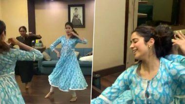 जाह्नवी कपूर ने 'पीया तोसे नैना लागे' सॉन्ग पर किया शानदार डांस, Video में दिखी श्रीदेवी की झलक