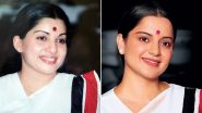 Jayalalitha 72nd Birth Anniversary: जयललिता की कार्बन कॉपी लग रही हैं कंगना रनौत, उनके जन्मदिन पर रिलीज हुआ फिल्म 'थलाइवी' से ये Look
