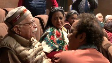 कश्मीरी पंडितों पर बनी फिल्म 'शिकारा' देखकर भावुक हुए लाल कृष्ण आडवाणी, देखें Video