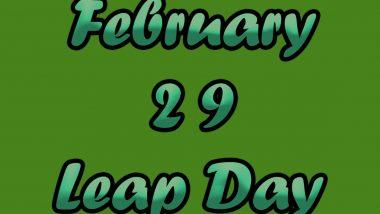 Leap Year 2020: जानें पूर्व पीएम मोरारजी देसाई के अलावा और किन देशी-विदेशी हस्तियों ने लीप ईयर में जन्म लिया