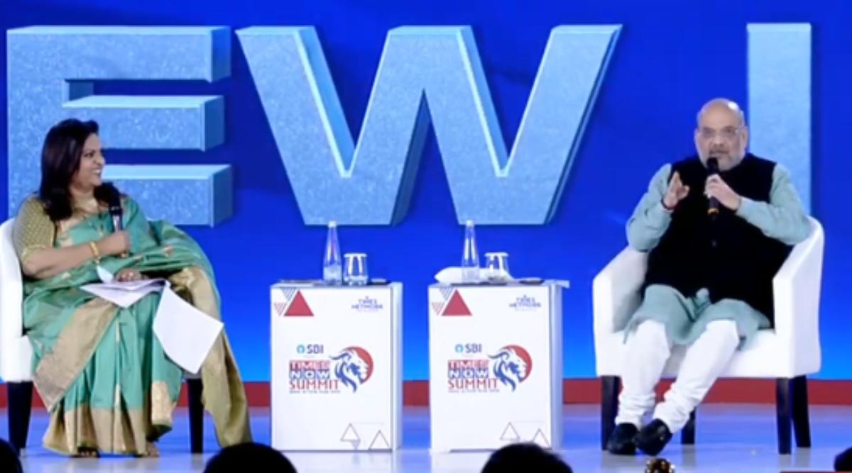 NRC पर Times Now Summit में बोले अमित शाह- यह हमारी पार्टी के मेनिफेस्टो में है, अभी तक इस पर नहीं लिया गया है कोई फैसला