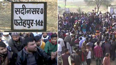 दिल्ली हिंसा: हेड कॉन्स्टेबल रतनलाल को शहीद का दर्जा देने की उठी मांग, सीकर में सड़कों पर बैठे लोग