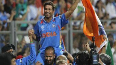 सचिन तेंदुलकर को मिला 'लॉरेस 20' स्पोर्ट्स अवॉर्ड, 2011 वर्ल्ड कप विनिंग मोमेंट के लिए मिला यह सम्मान
