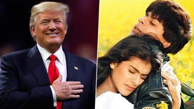 Donald Trump India Visit: डोनाल्ड ट्रम्प ने बॉलीवुड के लिए बांधे तारीफों के पुल, शाहरुख खान की DDLJ को बताया सर्वश्रेष्ठ फिल्म