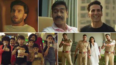 Sooryavanshi: अक्षय कुमार, अजय देवगन, रणवीर सिंह ने की रिलीज डेट की घोषणा, इस दिन आएगा 'सूर्यवंशी' का ट्रेलर