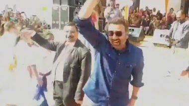 बीजेपी सांसद सनी देओल ने फिल्म 'गदर' के गाने पर किया डांस, फिल्मी डायलॉग बोलकर किया लोगों को इम्प्रेस, देखें Viral Video