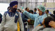दिल्ली-लुधियाना उड़ान का यात्री मिला कोरोना पॉजिटिव, सभी यात्रियों को किया गया क्वारंटाइन