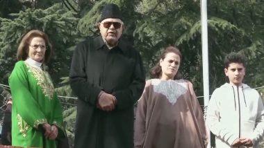जम्मू-कश्मीर: फारूक अब्दुल्ला 7 महीने बाद हिरासत से हुए रिहा, कहा- मैं आज आजाद हूं