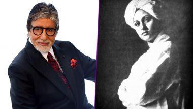 अमिताभ बच्चन ने पत्नी जया की पुरानी तस्वीर की शेयर, स्वामी विवेकानंद के लुक में दिखी एक्ट्रेस