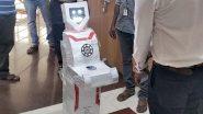 कोरोना पीड़ितों के इलाज में डॉक्टर्स की मदद करेंगे ये ह्यूमनॉयड रोबोट, तमिलनाडु की सॉफ्टवेयर कंपनी ने किए दान