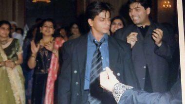 संजय कपूर की संगीत सेरेमनी में जमकर नाचे थे शाहरुख खान, करण जौहर ने पुरानी तस्वीर की शेयर