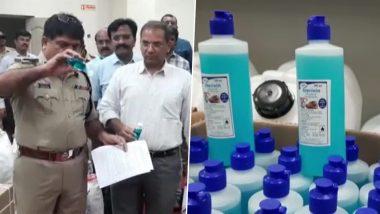 कोरोना वायरस: कर्नाटक में 56 लाख रुपये के नकली हैंड सेनेटाइजर के साथ 2 गिरफ्तार