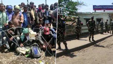 भारत-नेपाल सीमा पर फंसे भारतीय मजदूर, पड़ोसी देश में 7 तारीख तक लॉकडाउन