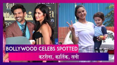 Katrina, Kartik ने अटेंड की IIFA की प्रेस कॉन्फ्रेंस ; Janhvi, Sunny भी हुईं स्पॉट | Celebs Spotted