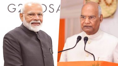Navratri & Durga Ashtami 2020 Wishes: नवरात्रि के अवसर पर पीएम मोदी और राष्ट्रपति सहित अन्य मंत्रियों ने अष्टमी और दुर्गा पूजा की देशवासियों को दी शुभकामनाएं