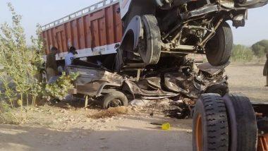 राजस्थान के जोधपुर में दर्दनाक हादसा, ट्रक-जीप की जोरदार टक्कर में 11 लोगों की मौत, 3 जख्मी