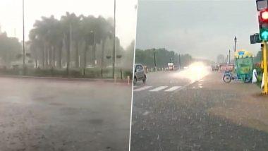 उत्तर भारत के कुछ हिस्सों में हल्की बारिश के बाद प्रचंड गर्मी से मिली कुछ राहत