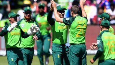 SA vs ENG ODI Series 2020: दक्षिण अफ्रीकी खिलाड़ी के कोरोना पॉजिटिव पाए जानें के बाद पहला वनडे हुआ स्थगित