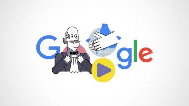 गूगल ने हैंडवाशिंग के चिकित्सीय लाभों को दुनिया के सामने लाने वाले डॉ इग्नाज सेमेलवाइस को किया याद, सिखाया कैसे धोएं हाथ- देखें Video