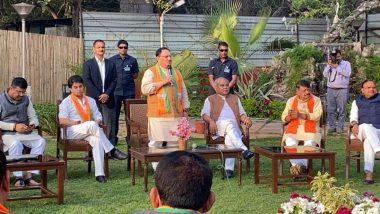 मध्य प्रदेश: कमलनाथ की सरकार गिराने वाले कांग्रेस के 22 बागी पूर्व विधायक BJP में हुए शामिल,जेपी नड्डा- सिंधिया समेत कई नेता रहे मौजूद
