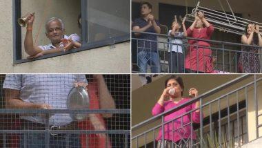 जनता कर्फ्यू के समर्थन में उतरे बेंगलुरु लोग, एक दिन पहले घंटी, ताली, थाली और शंख बजाकर किया रिहर्सल: देखें VIDEO