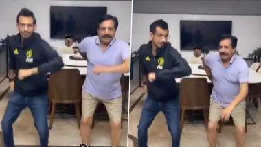 युजवेंद्र चहल ने ट्वीटर पर शेयर किया अपना पहला टिक-टॉक वीडियो, पिता के साथ शैतानी करते दिखे; Watch Video