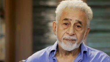 फीचर फिल्मों की तुलना में लघु फिल्में बनाना कठिन : नसीरुद्दीन शाह