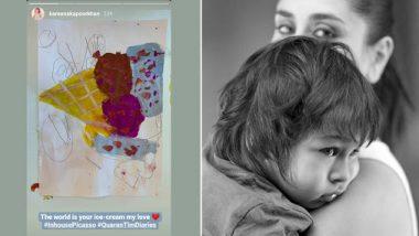 तैमूर ने बनाई पेंटिंग, करीना कपूर ने सोशल मीडिया पर शेयर करते हुए कहा- 'इन-हाउस पिकासो'