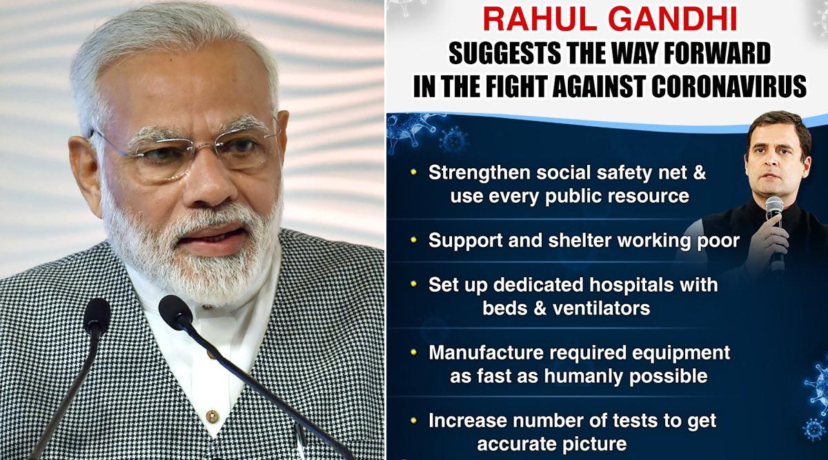 कोरोना के खिलाफ जंग: राहुल गांधी ने सरकार को COVID-19 से लड़ने के लिए दिए 5 TIPS