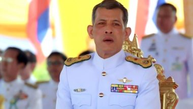 कोरोना के डर के चलते  थाईलैंड के राजा महा वजीरालाॅन्गकॉर्न 'सेल्फ आइसोलेशन' में, साथ में 20 लड़कियां भी