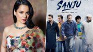 कंगना रनौत ने किया दावा, कहा- संजू फिल्म का ऑफर लेकर रणबीर कपूर मेरे घर आए थे