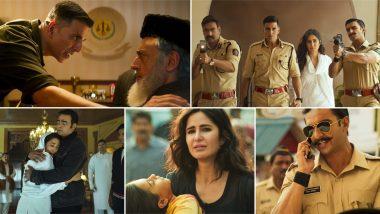 Sooryavanshi Trailer: अक्षय कुमार, अजय देवगन और रणवीर सिंह स्टारर 'सूर्यवंशी' का एक्शनभरा ट्रेलर हुआ रिलीज, देखें Video