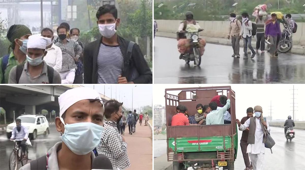 कोरोना से जिंदगी की जंग: दिल्ली में भूख और मुनाफाखोरो ने मजदूरों को सैकड़ो किमी चलने पर कर दिया मजबूर