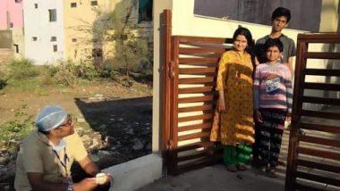 Coronavirus: भोपाल के CMHO डॉक्टर सुधीर डेहरिया के जज्बे को सलाम, 5 दिन बाद लौटे घर, बाहर से ही परिवार वालों से मिलने के बाद अस्पताल के लिए हुए रवाना