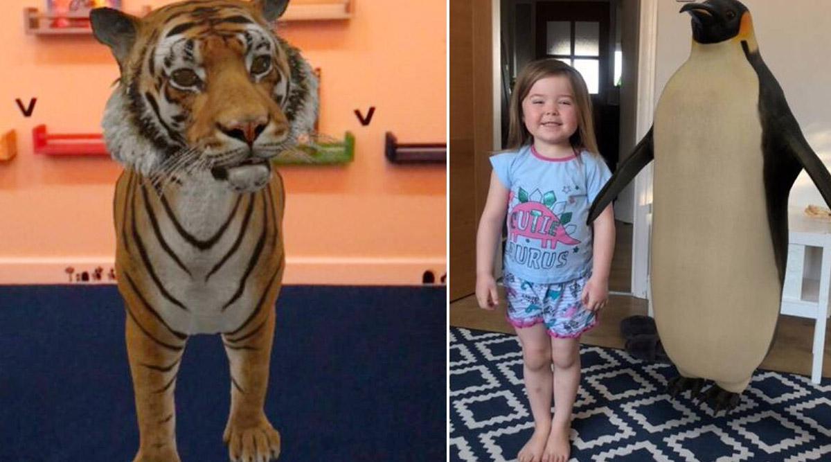 क्वारंटाइन के दौरान न होएं बोर, Google 3D Animals के जरिए पेंगुइन, पांडा और शेरों को पाएं अपने घर में, बच्चों को दिखाएं ये मस्ती भरा जादू
