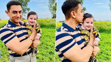 आमिर खान से लाल सिंह चड्ढा के सेट पर मिलने आया गिप्पी ग्रेवाल का क्यूट बेबी, तस्वीरें वायरल