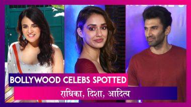 Radhika Madan ने Angrezi Medium को किया प्रमोट ;  Disha- Aditya भी हुए स्पॉट | Celebs Spotted