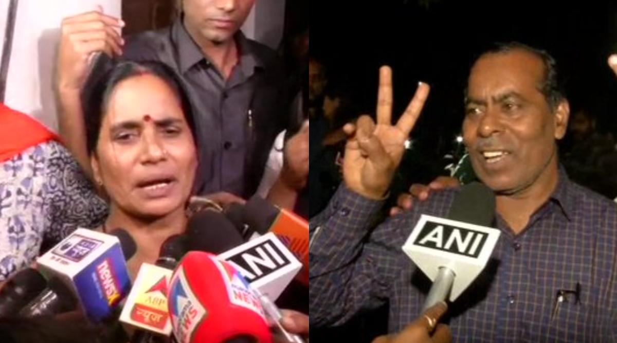 दोषियों को फांसी पर लटकाए जाने के बाद निर्भया की मां आशा देवी ने कहा- मैंने बेटी की तस्वीर को गले लगाकर उसे बताया कि आज न्याय मिल गया