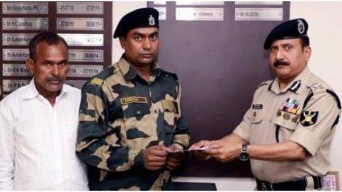 दिल्ली हिंसा में बीएसएफ जवान मोहम्मद अनीस का जला घर, फिर से निर्माण के लिए BSF ने दिए 10 लाख रुपये का चेक
