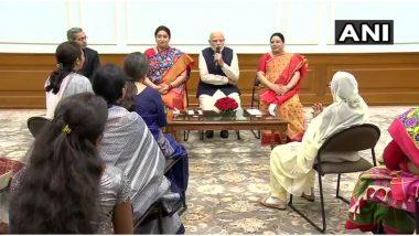 International Women's Day 2020: महिला दिवस के खास अवसर पर PM मोदी नारी शक्ति पुरस्कार से सम्मानित महिलाओं से कर रहे हैं बात, लोग सुना रही हैं अपनी दस्ता
