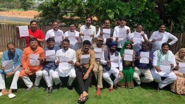 मध्य प्रदेश सियासी संकट: कांग्रेस के 22 बागी विधायकों ने दिग्विजय सहित अन्य नेताओं से मिलने से किया इनकार, कहा-हमारी जान को नहीं है खतरा