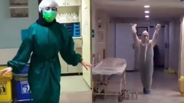 Coronavirus से संक्रमित मरीजों का इलाज करने वाले डॉक्टर्स और नर्स के डांस का वीडियो हुआ वायरल, आप भी देखें