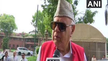 जम्मू-कश्मीर: फारूक अब्दुल्ला की सभी दलों के नेताओं से अपील, कहा- बंदियों की रिहाई के लिए दें मेरा साथ