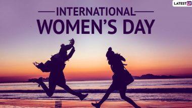 Happy International Women's Day 2020 Greetings: महिला दिवस पर भेजें ये खूबसूरत HD Wallpapers, GIF Images, WhatsApp Stickers, Quotes, Photo SMS और महिलाओं को दें शुभकामनाएं