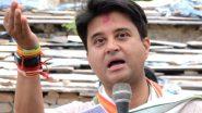ज्योतिरादित्य सिंधिया का तंज, कहा- कांग्रेस नामदारों की पार्टी है और BJP कामदारों की